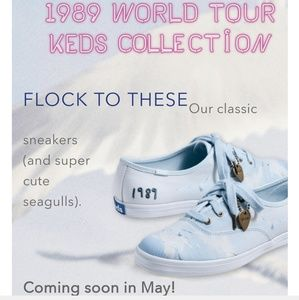 6a365ebda7320 Keds Shoes - Taylor Swift World Tour 1989 Collection Keds Sz 8